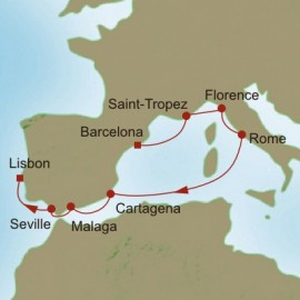 Classical Empires Itinerary