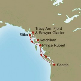 Awe of Alaska Itinerary