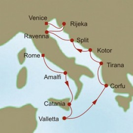 Adriatic Embrace Itinerary