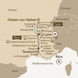 South of France Itinerary
