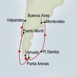 South America Passage Itinerary