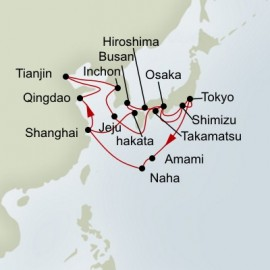 China and Japan and South Korea Collector Itinerary