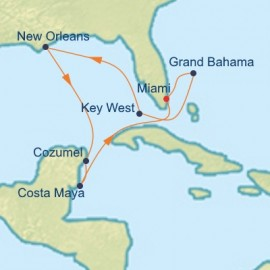 Jazz Fest and Caribbean Itinerary
