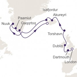 Majestic Midnight Sun Itinerary