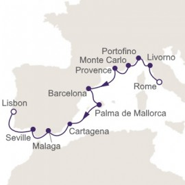 Rome to Lisbon Itinerary