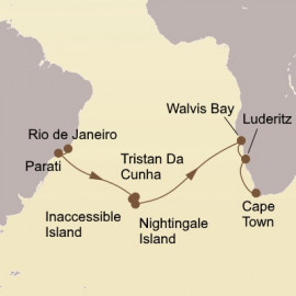 Atlantic Isles and Africa Itinerary