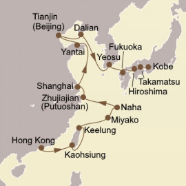 Asian Seas Exploration Itinerary