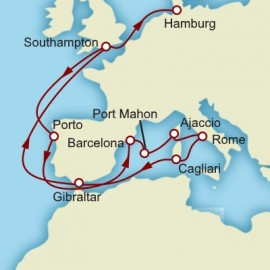 Mediterranean Highlights Itinerary