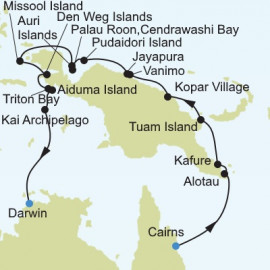 Cairns to Darwin Itinerary