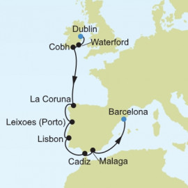 Northern Europe and British Islands Itinerary