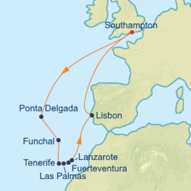 Canaries and Azores Itinerary