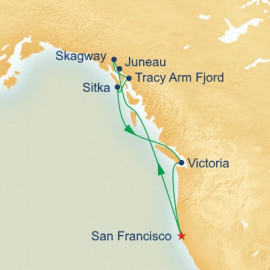 Inside Passage Itinerary