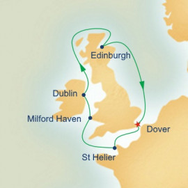 Ireland Scotland and Wales  Itinerary