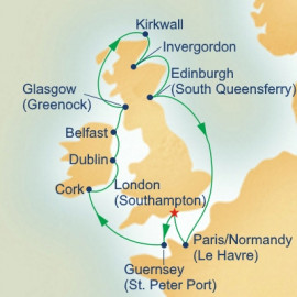 British Islands Itinerary