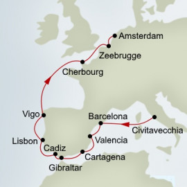 European Splendour Itinerary