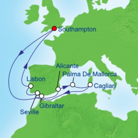 Europe South Itinerary