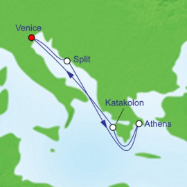 Croatia And Greece Itinerary