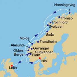 Norway and the Midnight Sun Itinerary