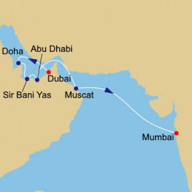 Arabia and India Holiday Itinerary