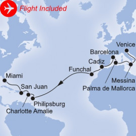 Maiden Voyage Fly Itinerary