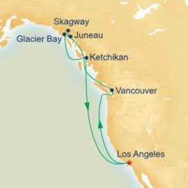 Inside Passage With Glacier Bay Itinerary