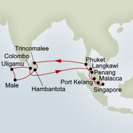 Indian Ocean Explorer  Itinerary