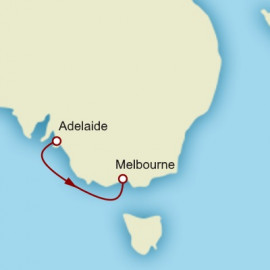 Adelaide to Melbourne World Sector  Itinerary