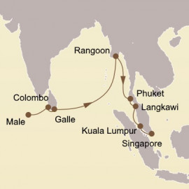 Myanmar and Malaysian Marvels Itinerary