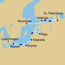 Baltic Rendezvous Itinerary