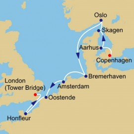 Cities Of Northern Europe Itinerary
