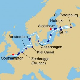 Baltic and World Cup Itinerary