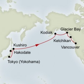 North Pacific Crossing Itinerary