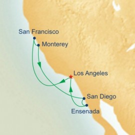 Classic California Coast Itinerary