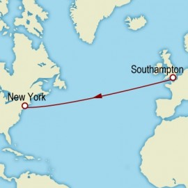 Westbound Transatlantic Crossing Itinerary