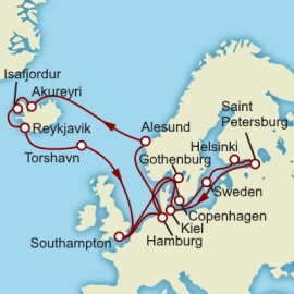 Iceland and the Fjords Itinerary
