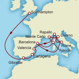 Rome Monte Carlo and Barcelona Itinerary