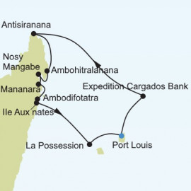 Indian Ocean Itinerary