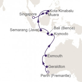 Fremantle to Singapore Itinerary
