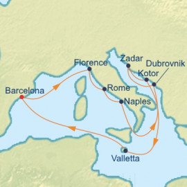 Italy And The Adriatic Itinerary