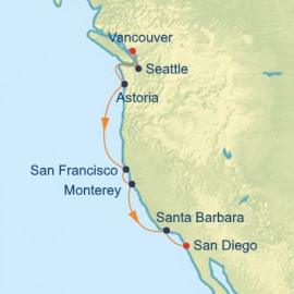 Pacific Northwest Itinerary