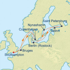 Scandinavia and Russia Itinerary