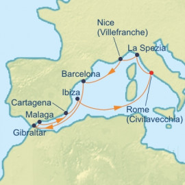 Best Of Western Mediterranean Itinerary