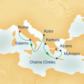 Mediterranean and Aegean Itinerary