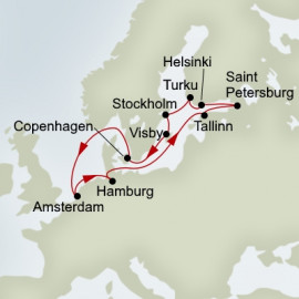 Baltic and Kiel Canal Explorer Itinerary