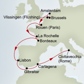 European River Explorer Itinerary