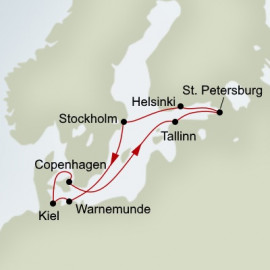 Jewels Of The Baltic Itinerary