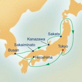 Sea of Japan Itinerary