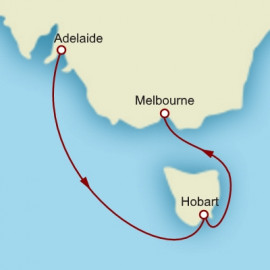 Adelaide to Melbourne Itinerary