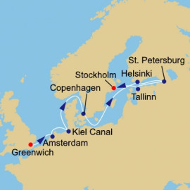 London to Stockholm Azamara Club Cruises Cruise