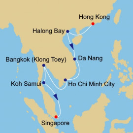 Vietnam And Thailand Intensive Itinerary